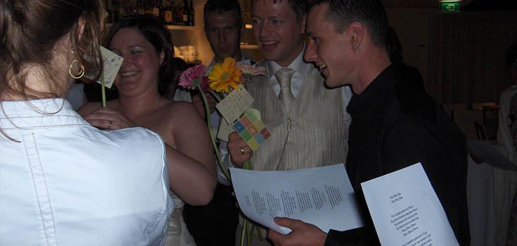 Welkomstlied bruidspaar