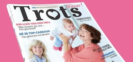 Geef het magazine TROTS cadeau!