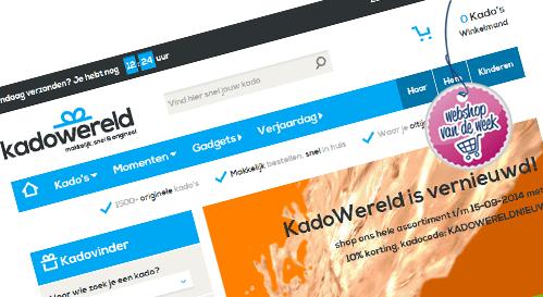 Webshop van de week: Kadowereld