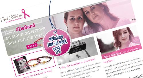 Webshop van de week; Pink Ribbon Shop
