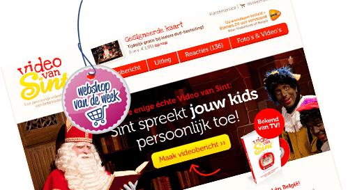 Webshop van de week; Videovansint.nl