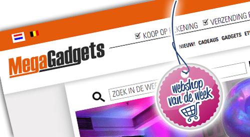 Webshop van de week; Mega Gadgets!