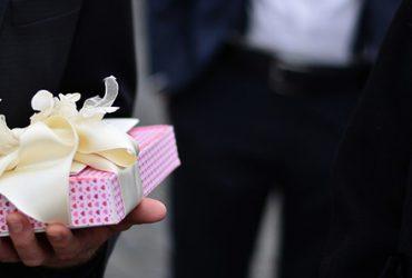 Cadeau als verrassing