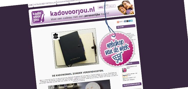 Webshop van de week: Kadovoorjou.nl