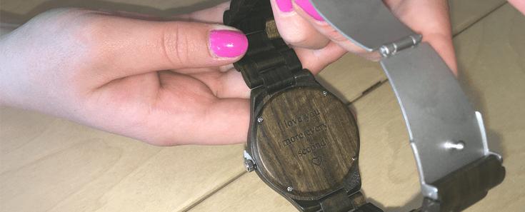 horloge gegraveerd